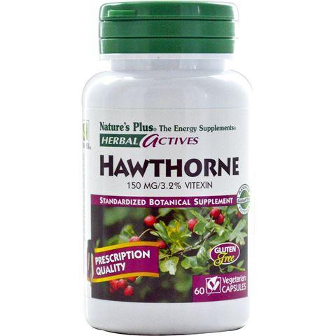 Nature's Plus Hawthorne 150mg, 60 Φυτικές Κάψουλες