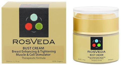 Rosveda Bust Cream – Σύσφιξη & ανόρθωση στήθους, 50ml
