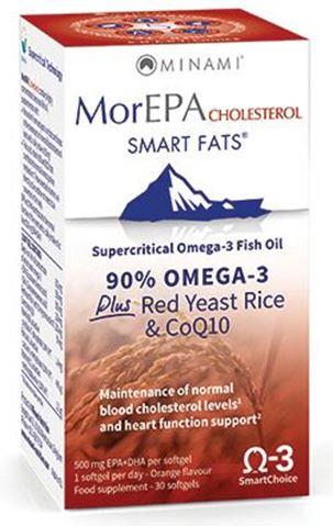 Minami Nutrition MorEPA Cholesterol Smart Fats 30 Κάψουλες