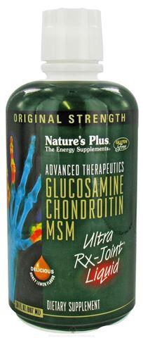 Nature's Plus Glucosamine Chondroitin MSM Ultra Rx Joint Liquid 887ml