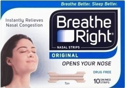 Breathe Right Breathe Right Original 10 Ταινίες - Μεσαίο μέγεθος