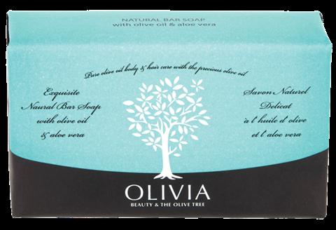 Olivia Φυτικό Σαπούνι με Ελαιόλαδο & Αλόη 125gr