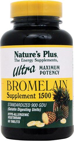 Nature's Plus Ultra Bromelain 1500mg, 60 Tαμπλέτες