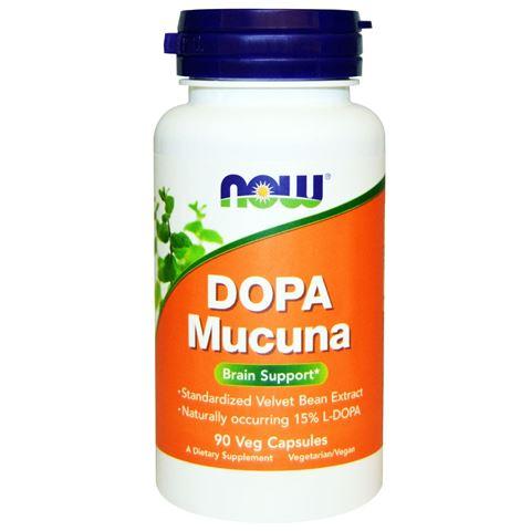 Now Foods Dopa Mucuna 90 Φυτικές Κάψουλες