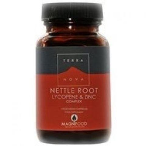Terranova Prostate Support - Nettle Root Lycopene & Zinc Complex 100 Κάψουλες