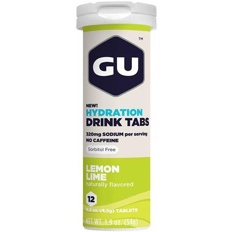 Ταμπλέτες Ηλεκτρολυτών GU - Γεύση Λεμόνι, 12 Αναβράζουσες Ταμπλέτες
