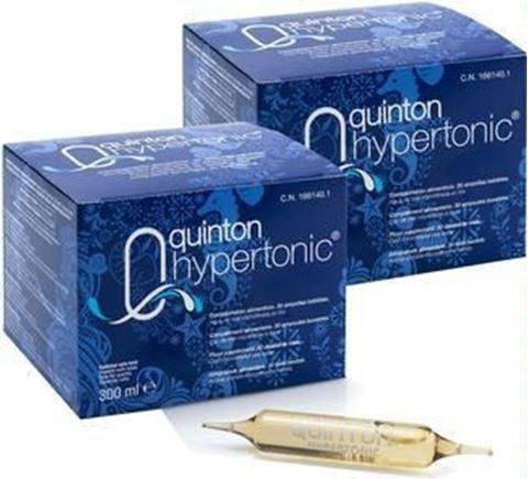 Quinton Hypertonic 30 Αμπούλες των 10ml