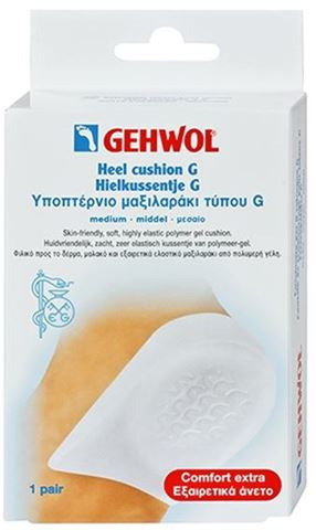 Gehwol Heel Cushion G 1 Ζευγάρι Μεσαίο
