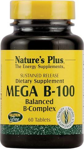 Nature's Plus Mega B-100, 60 Ταμπλέτες