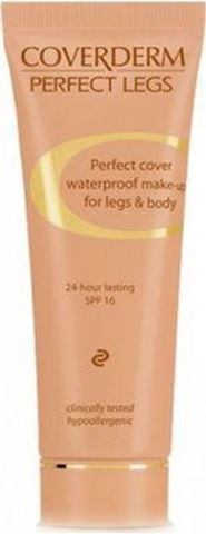 Coverderm Perfect Legs Waterproof 06, SPF16, 50ml