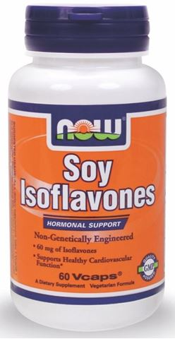 Now Foods Soy Isoflavones Non - Gmo 150mg, 60 Ταμπλέτες