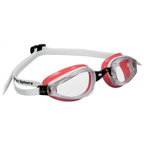 Aqua Sphere K 180 Lady Διάφανο - White/Red