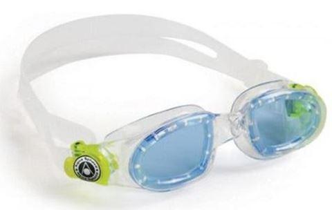 Aqua Sphere Moby Kid Μπλε Φακός Clear/Lime
