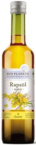Bio Planete Κραμβέλαιο (Λάδι Canola), ΒΙΟ 500ml