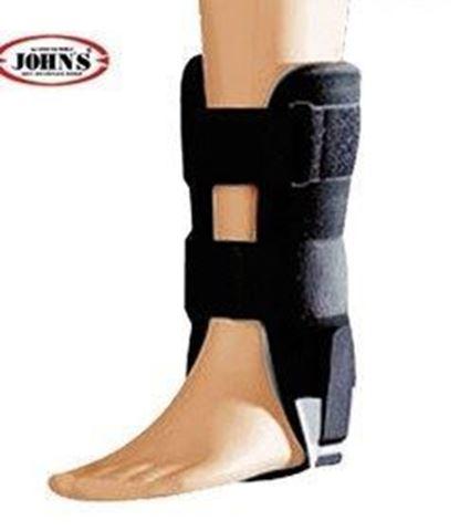John's Action Sport Με Αφρώδες Υλικό Ankle Brace One Size Black 23211