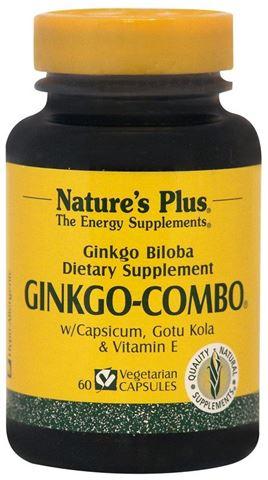 Nature's Plus Ginkgo Combo 60 Φυτικές Κάψουλες