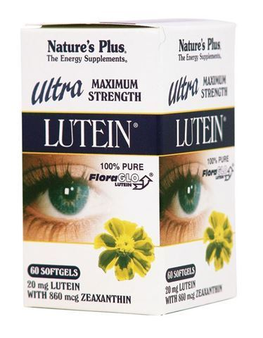Nature's Plus Lutein Ultra, 20mg, 60 Μαλακές Κάψουλες