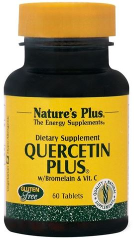Nature's Plus Quercetin Plus 60 Ταμπλέτες