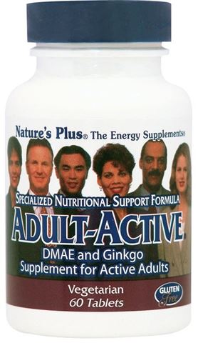 Nature's Plus Adult -Active 60 Ταμπλέτες