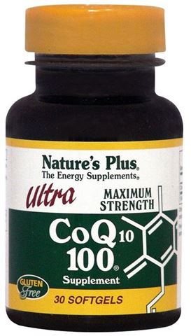 Nature's Plus Ultra CoQ10, 100mg, 30 Μαλακές Κάψουλες