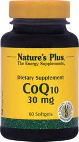 Nature's Plus CoQ10, 30mg, 60 Mαλακές Kάψουλες