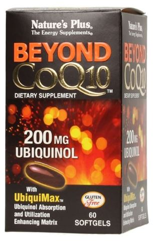 Nature's Plus Beyond CoQ10 200mg, 30 Mαλακές Kάψουλες