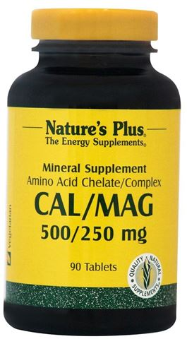 Nature's Plus Cal/Mag 500/250mg 90 Ταμπλέτες