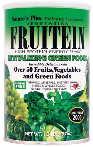 Nature's Plus Fruitein Green, 576g