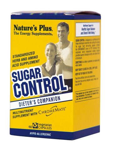 Nature's Plus Sugar Control 60 Φυτικές Κάψουλες