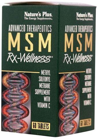Nature's Plus MSM Rx-Wellness 60 Ταμπλέτες