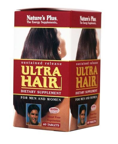 Nature's Plus Ultra Hair® S/R 60 ταμπλέτες