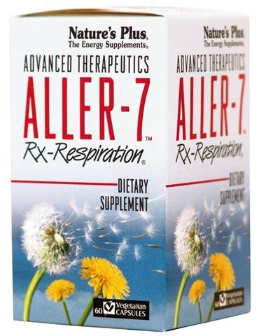 Nature's Plus Aller-7 Rx Respiration 60 Ταμπλέτες