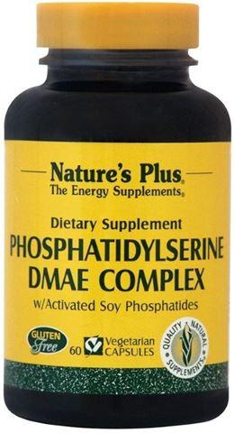 Nature's Plus Phosphatidylserine DMAE Complex 60 Φυτικές Κάψουλες