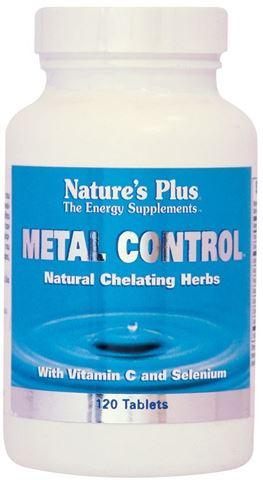 Nature's Plus Metal Control 120 Ταμπλέτες