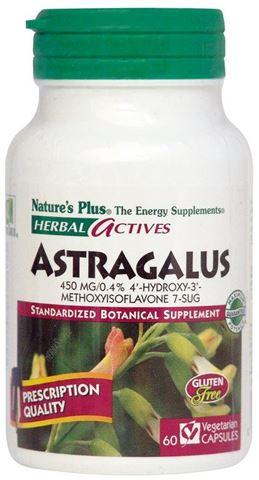 Nature's Plus Astragalus 450mg, 60 Φυτικές Κάψουλες