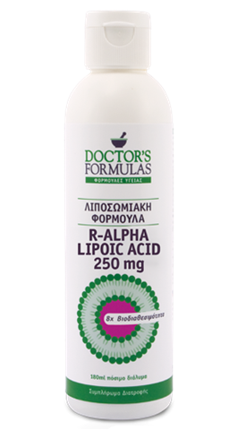 Doctor's Formulas R-Alpha Lipoic Acid 250mg, 300ml