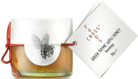Foodscross Εκλεκτό Θυμαρίσιο Μέλι 30gr, 60% Παρουσίας Γυρεόκοκκου Θυμαριού