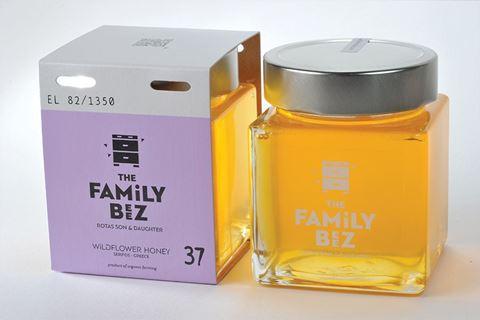 Organic Wildflower Honey, 250gr