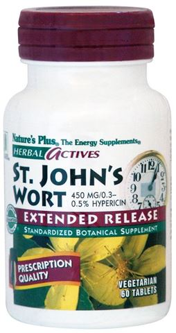 Nature's Plus St. John's Wort 450mg, 60 Ταμπλέτες