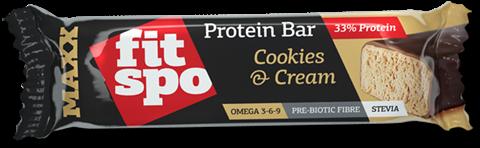 Fit Spo Μπάρα MAXX 35% prt Cookies & Cream 75gr