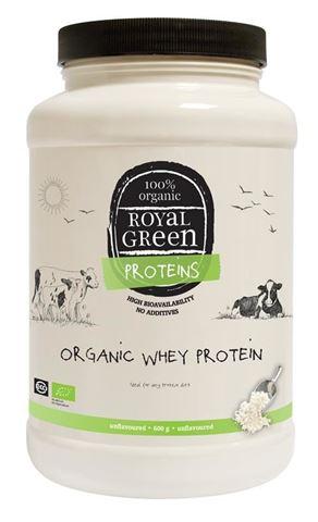 Royal Green Οργανική Πρωτεΐνη ορού γάλακτος, 600gr