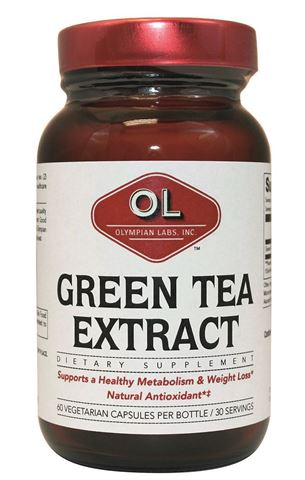 Olympian Labs Green Tea Extract 500mg, 60 Ταμπλέτες