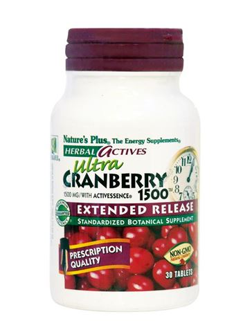 Nature's Plus Ultra Cranberry 1500 Extended Release 30 Ταμπλέτες