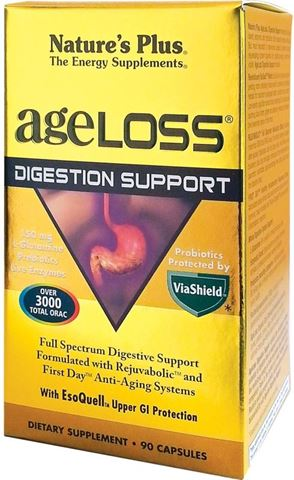 Nature's Plus Ageloss Digestion Support 90 Κάψουλες