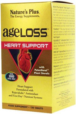 Nature's Plus Ageloss Heart Support 120 Ταμπλέτες