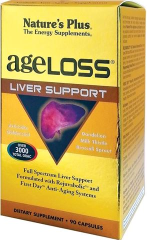 Nature's Plus Ageloss Liver Support 90 Κάψουλες