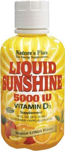 Nature's Plus Liquid Sunshine Vitamin D3, 473ml