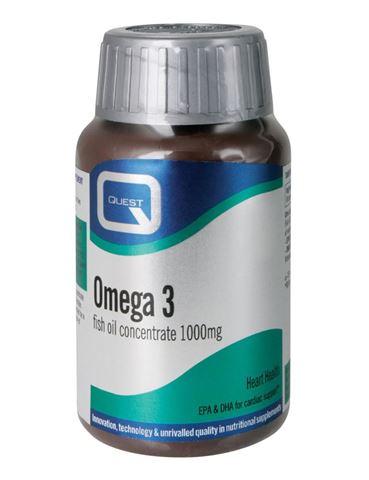 Quest Omega 3, 1000mg, 90 Κάψουλες