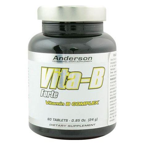 Anderson Vita-B Forte Vitamin B-Complex 400mg, 60 Tαμπλέτες