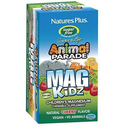 Nature's Plus Animal Parade Mag Kidz90 Μασώμενες Ταμπλέτες